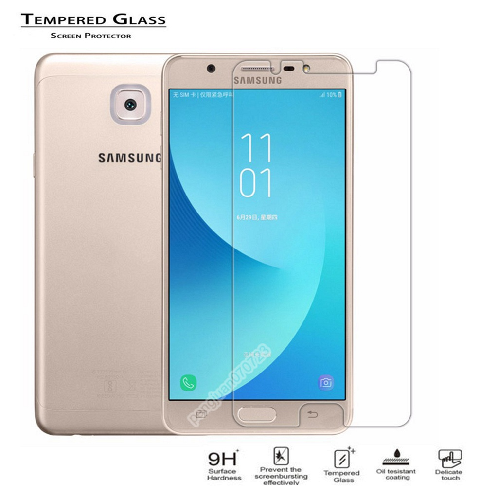 9h 25d Tempered Glass Protector For Samsung Galaxy J7 Max On Sm Temper G615f G615