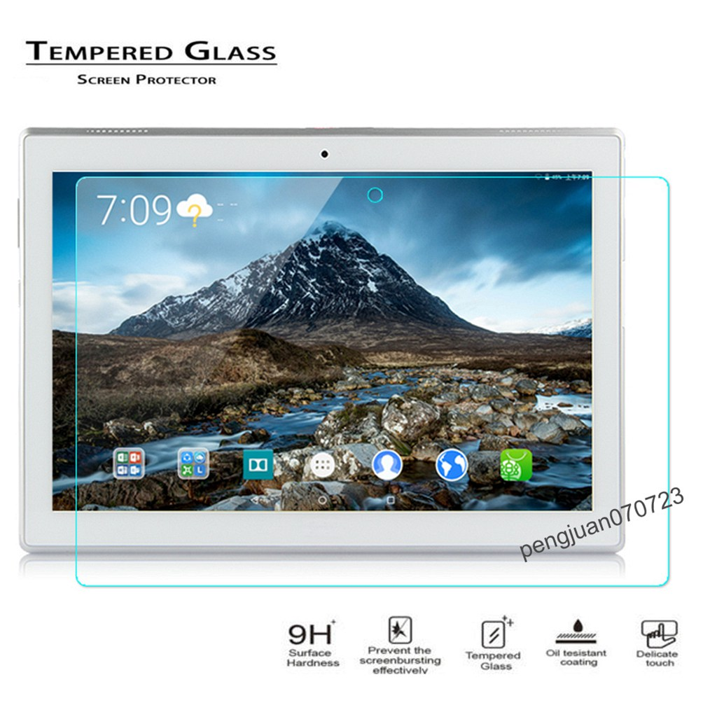 Film Coverage Tempered Glass Screen Protector For Lenovo Tab 4 10.0 TB-X304F//N