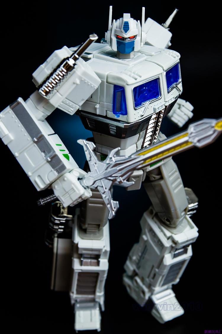 Mp10 Devastator Transformers White Optimus Prime Mp 10 Convoy In Stock New