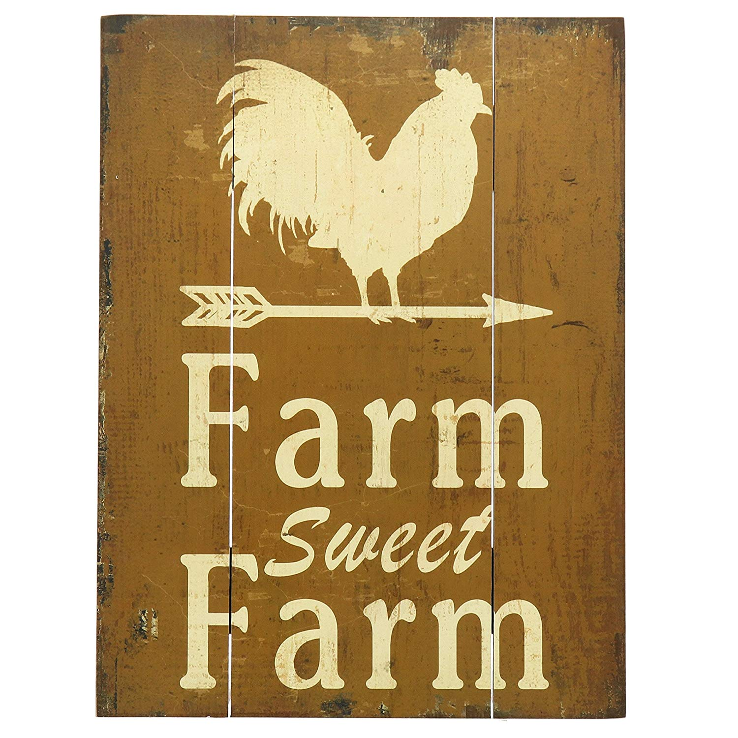 Retro Metal Signs Fresh Eggs Plaque Tin Plate Henhouse Wall Iron Hanging