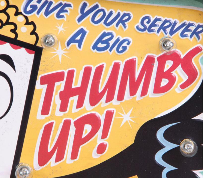 Loft Style Vintage LED Light Metal Signs Popcorn Pub Bar Art Wall ...