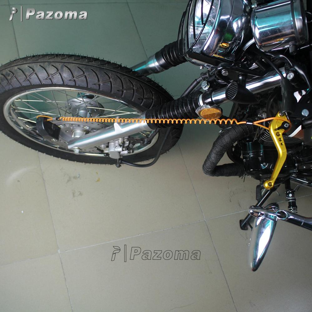 Caps-Lock Moto Universale moto di blocco freno Moto manubrio della manopola di blocco antifurto di sicurezza del freno di blocco di livello per motorino della bici del