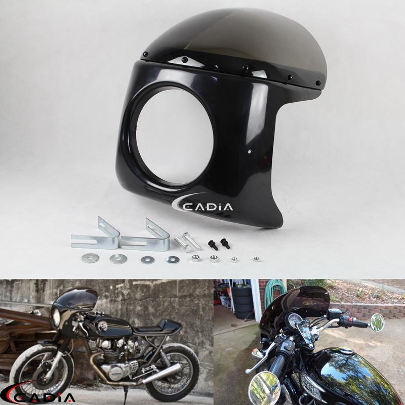 Frames & Accessories Yellow B Blesiya Motorcycle 7 inch Retro ...