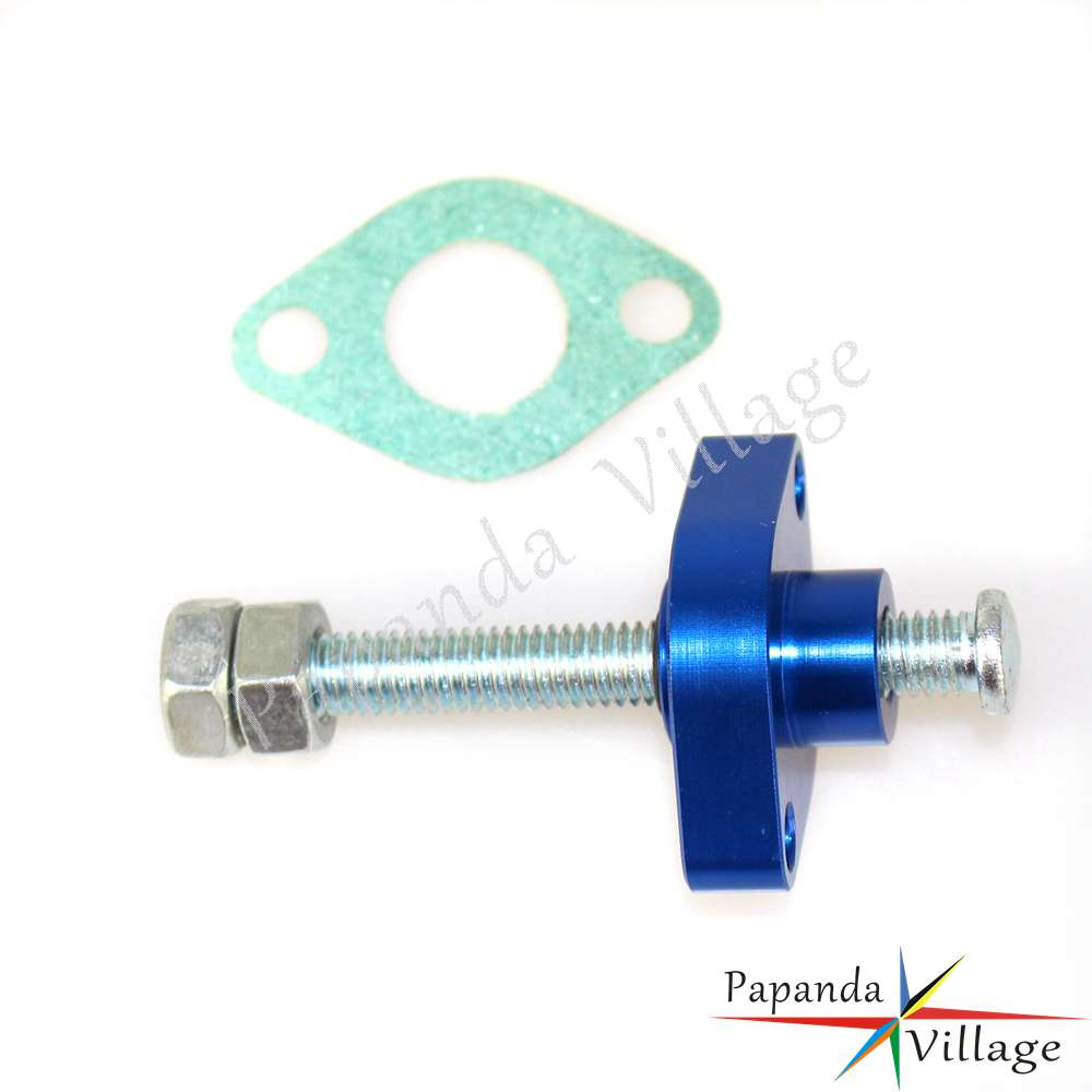 Blue Manual Cam Timing Chain Tensioner For Yamaha 99-03 YFM 250X Bear  Tracker
