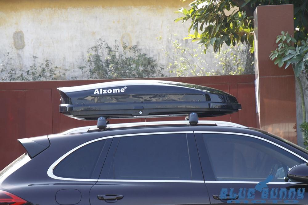 580l 95kg Dual Side Open Car Roof Rack Luggage Storage Box
