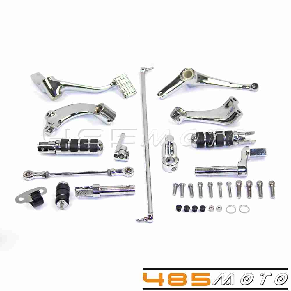 Squishy Muffinz Controls Settings : Chrome Forward Controls Control Kit Soft Footpeg Set For Sportster 1200 Roadster