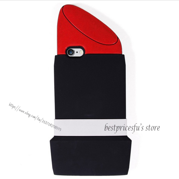Hot 3D Cute Cartoon Silicone Soft Case Cover For Apple iPhone X 4 5 6S 7