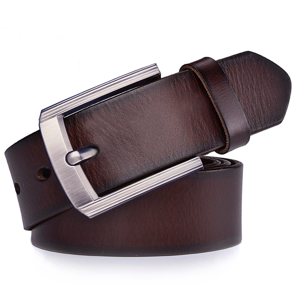 Top Quality Fashion Mens Belt 100/% Genuine Leather Belt Belts for Men Size S-9XL