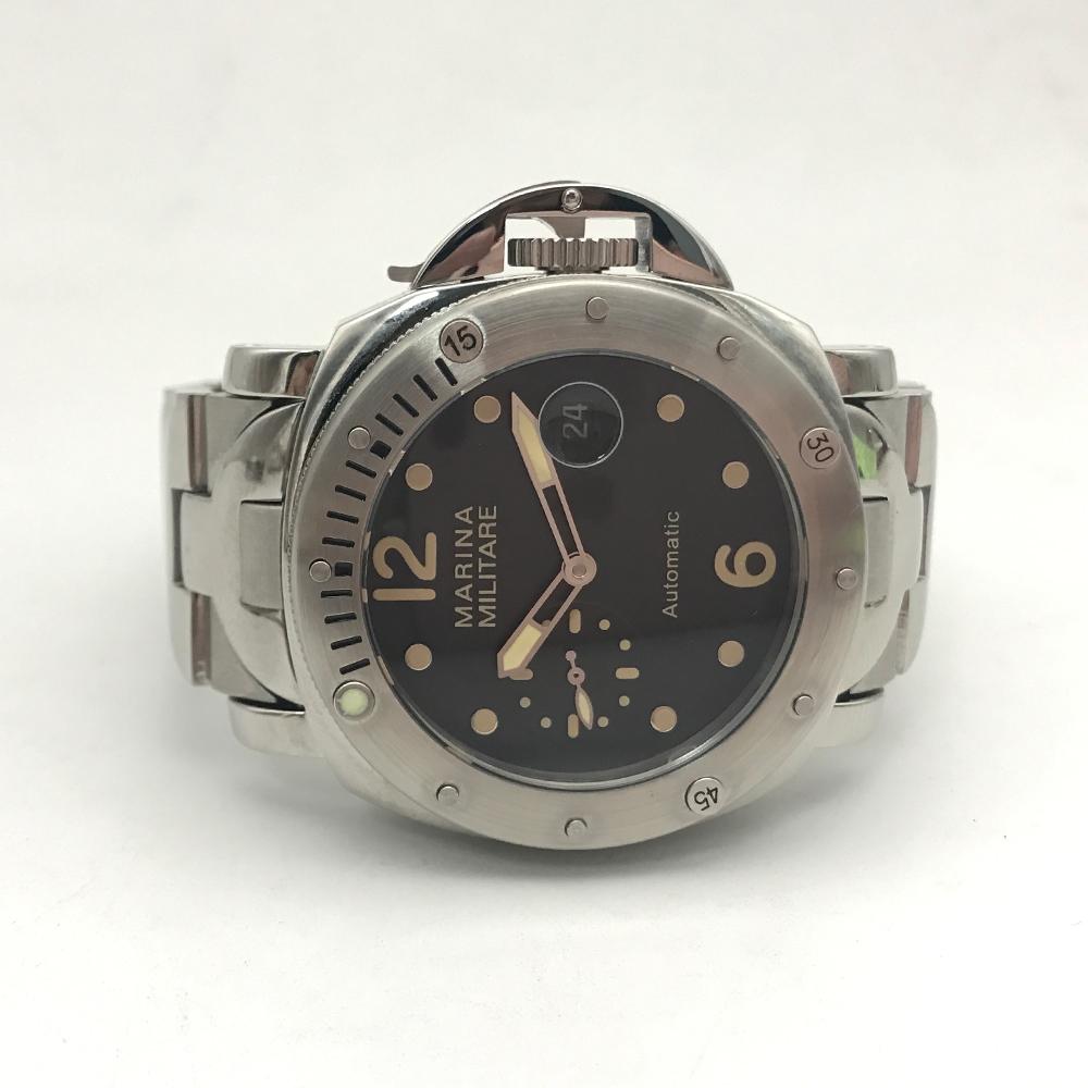 44mm pam watch uhr luminor militare tauchen automatisch. Black Bedroom Furniture Sets. Home Design Ideas