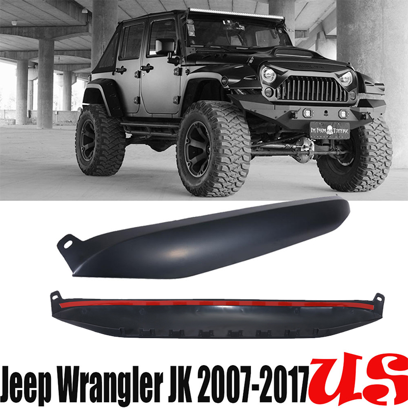 Nighthawk Light Brow Cover Angry For 20072017 Jeep Wrangler Jk Us