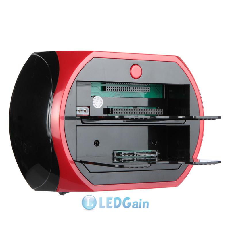 "USB 2.0/3.0 2.5"" 3.5"" SATA IDE Hard Disk Drive HDD Docking USB HUB Card Reader 102"