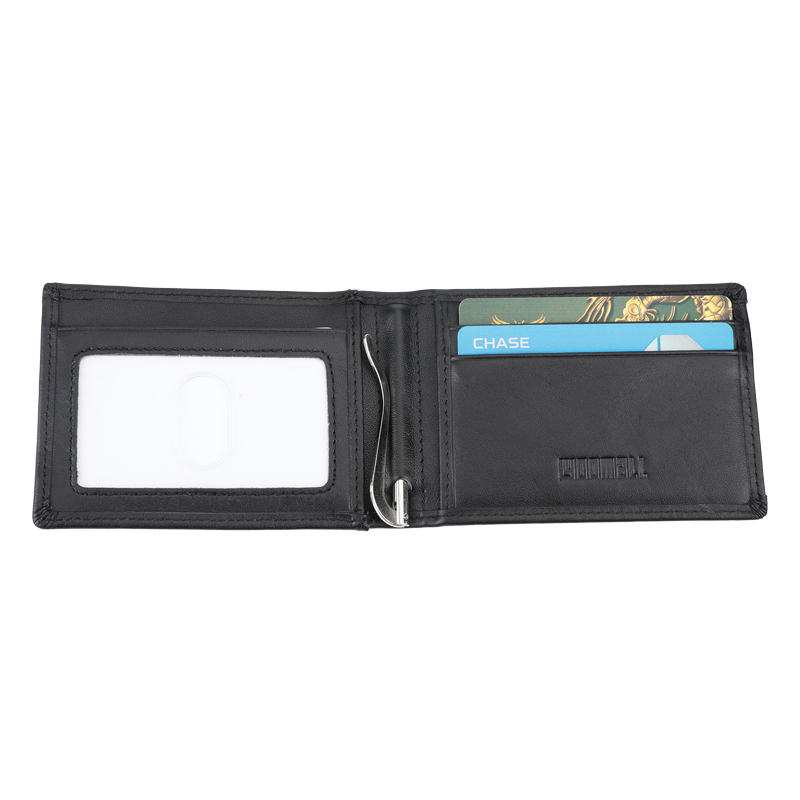 Details about Mens Wallet with Money Clip Bifold Leather RFID Blocking Slim  Wallet Card Holder