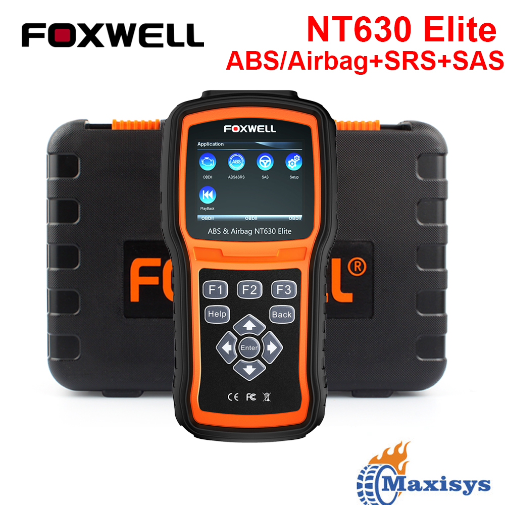 Details about FOXWELL Automotive ABS SRS Reset Scanner OBDII Code Reader  Diagnostic Scan Tool