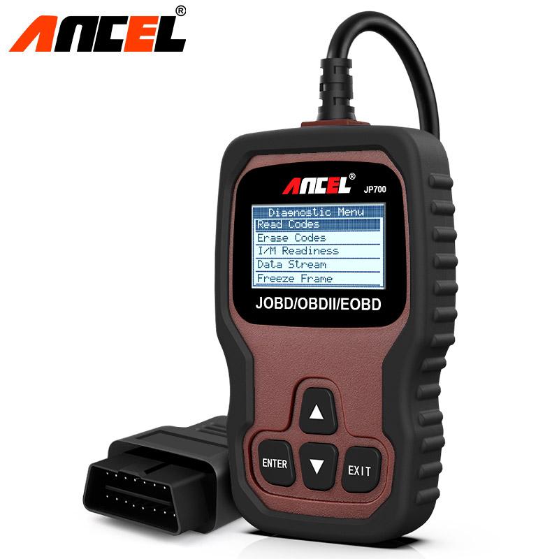 Ancel JP700 OBD OBD2 JOBD Car Code Reader Automotive Scanner For ...