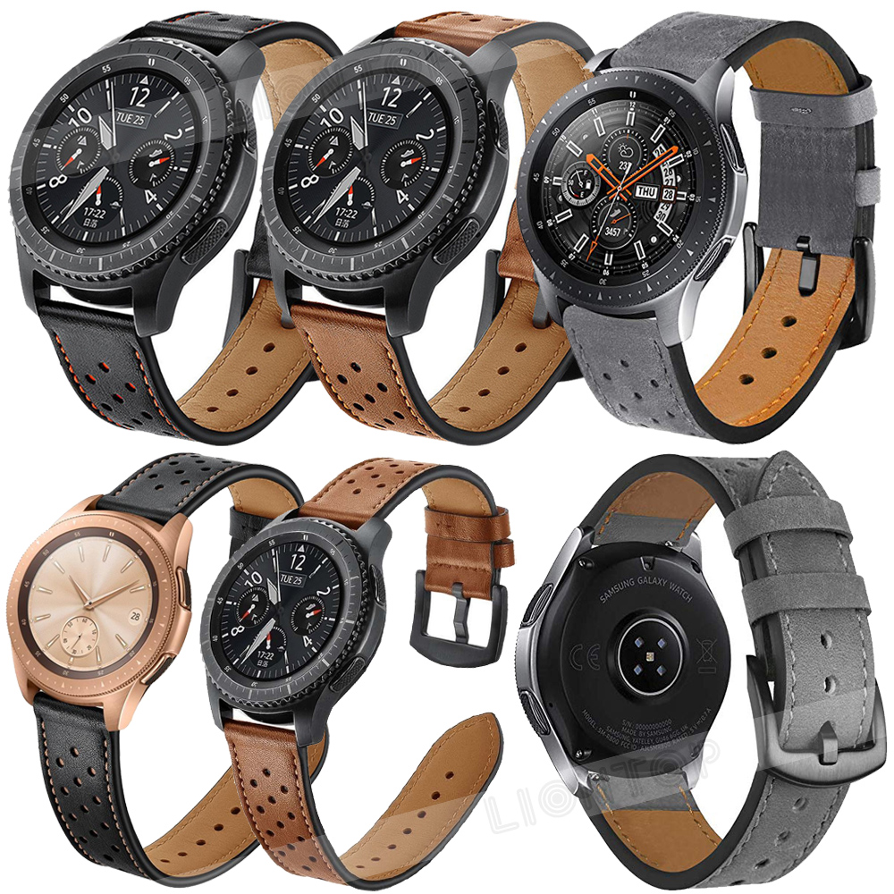 cabc4dca091672 Details about For Huawei Watch GT/Watch 2 Pro/Classic Sport Band Genuine  Leather Strap 20/22MM