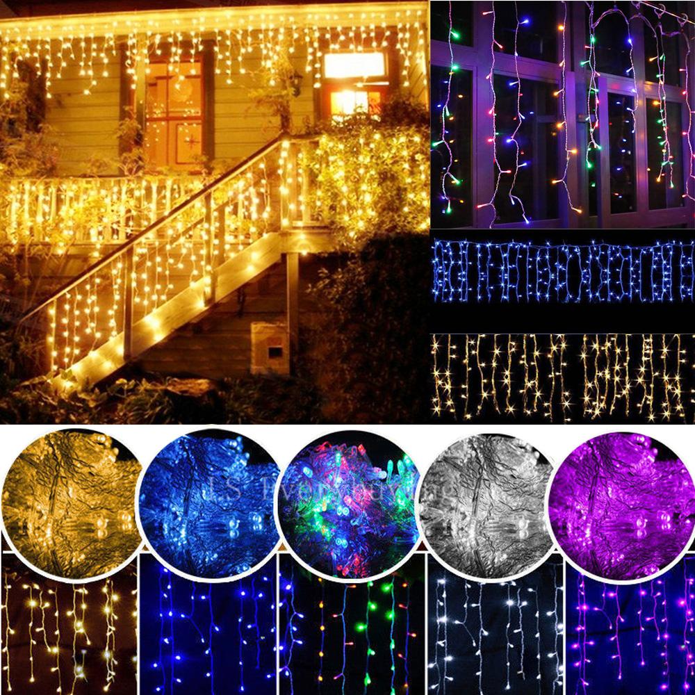 Christmas Decor 96-1500 Led String Fairy Lights Outdoor Party Garden Xmas Lamp
