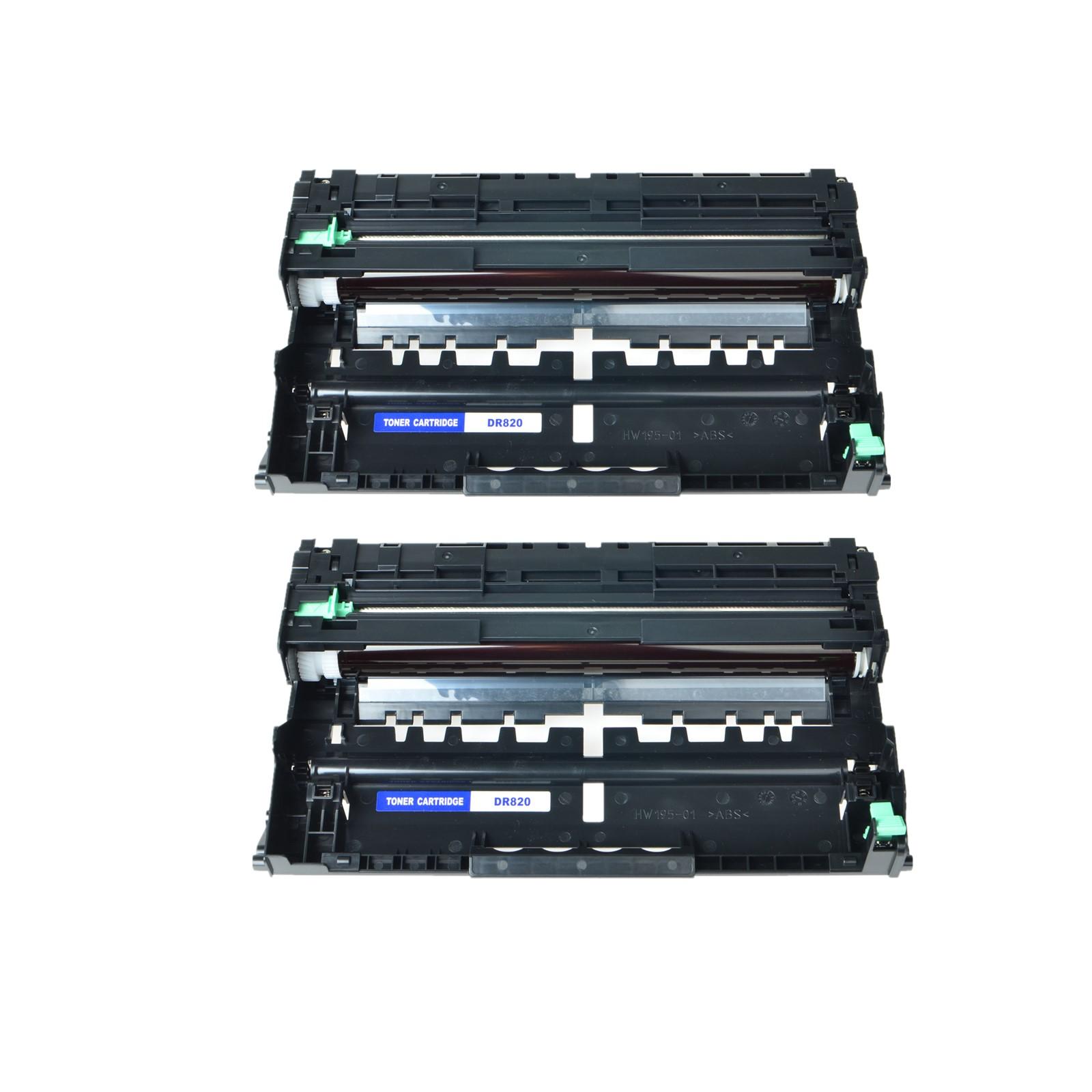 2PK DR820 Drum Unit For Brother HL-L6200DW L6200DWT L6250DW MFC-L5900DW L6700DW