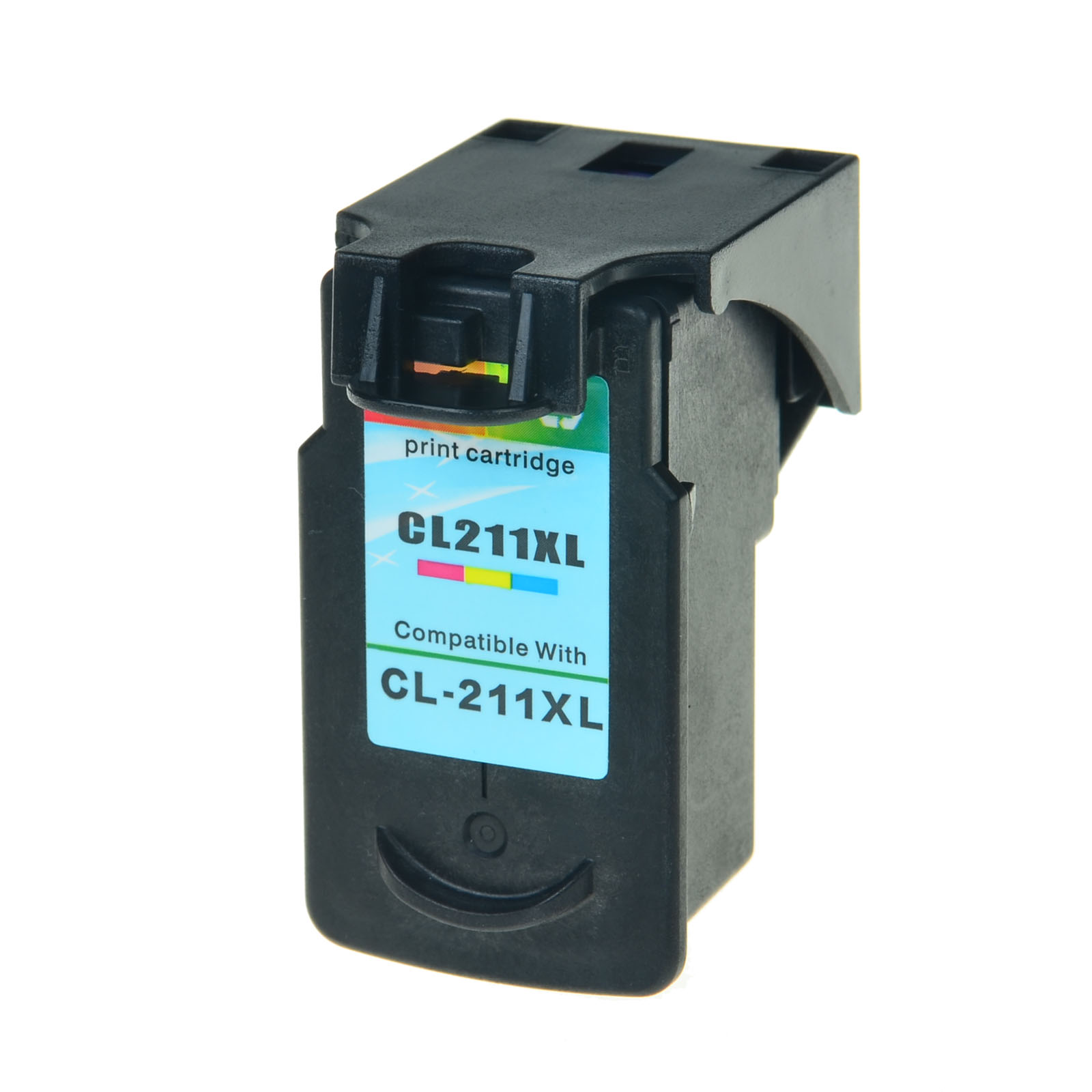 US STOCK 1PK CL 211XL Color Ink Cartridge For Canon PIXMA MP280 MP490 MP499
