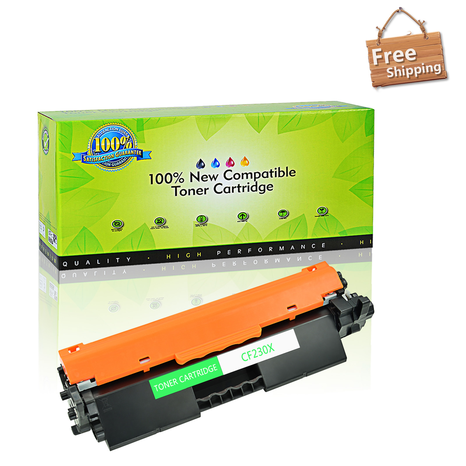 2PK Genuine HP 30X CF230X Black Toner Cartridge LaserJet Pro M203dn M227d NEW