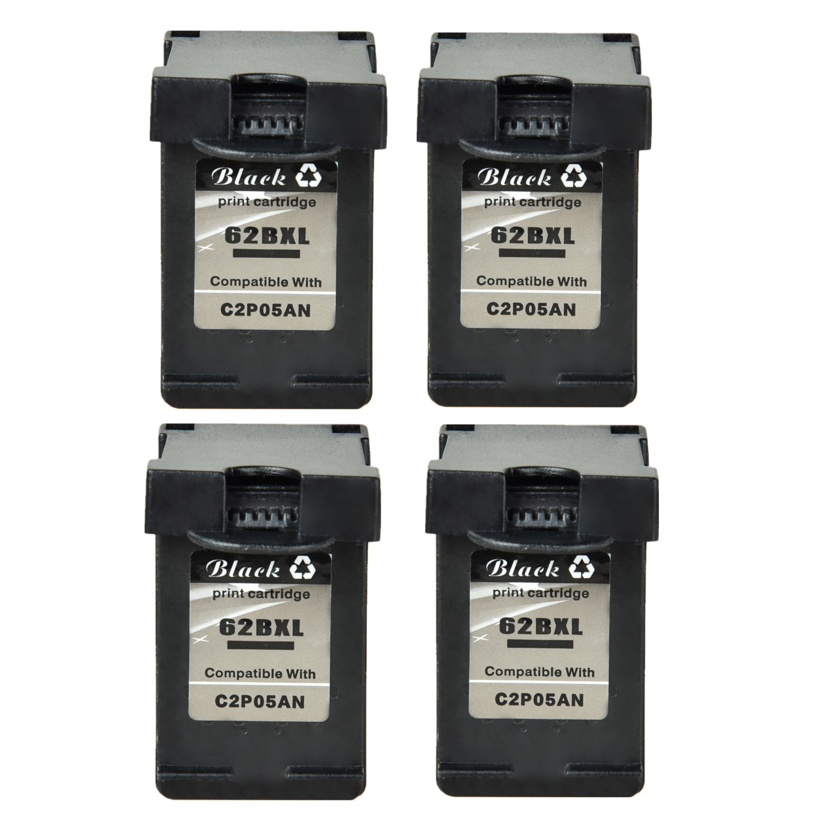 3PK Color 62XL Ink For HP ENVY 5541 5542 5543 5546 5547 5548 7643 7645 8000 8005
