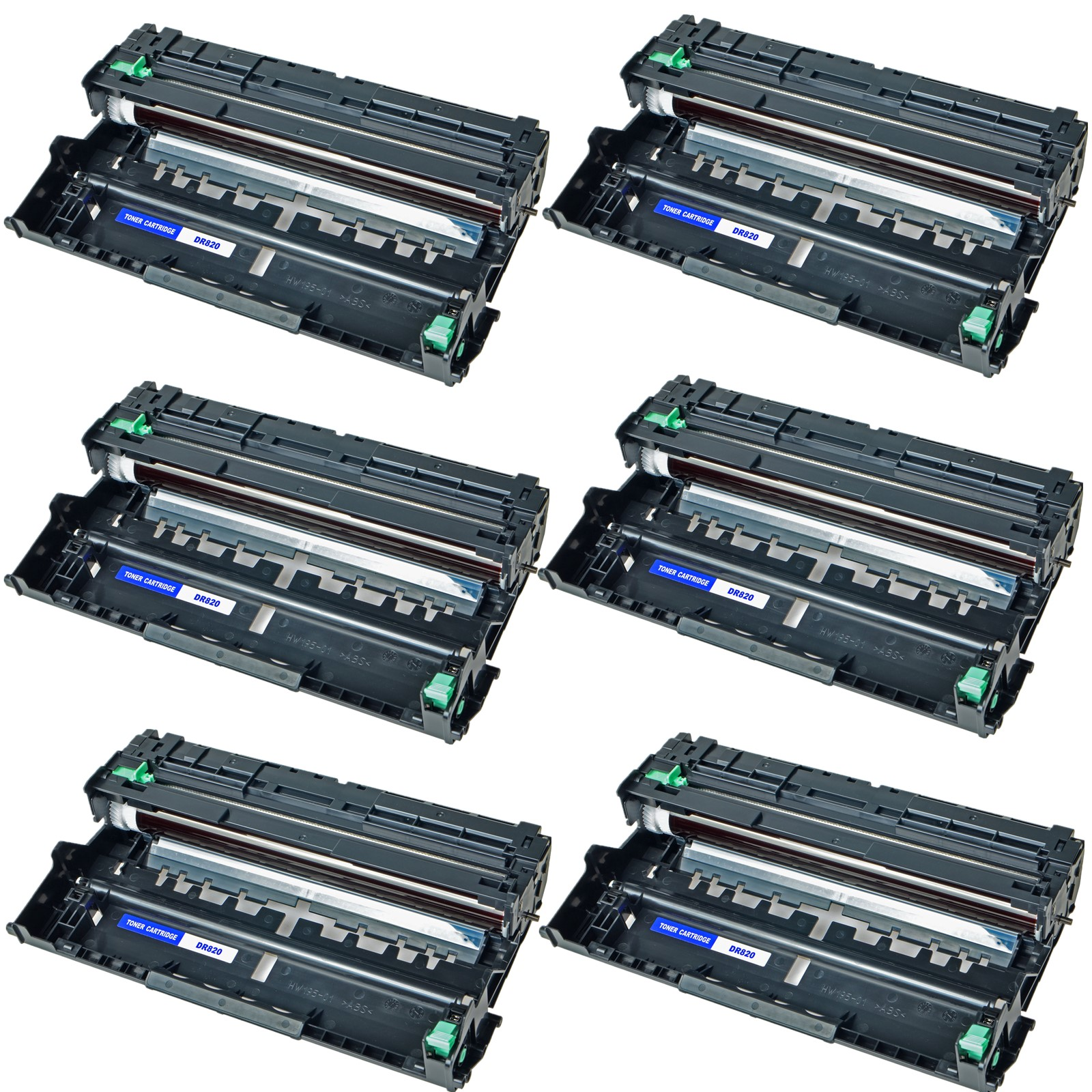 6PK DR820 Drum Unit for the Brother MFC-L5900DW L6700DW L6750DW L6900DW L6800DW