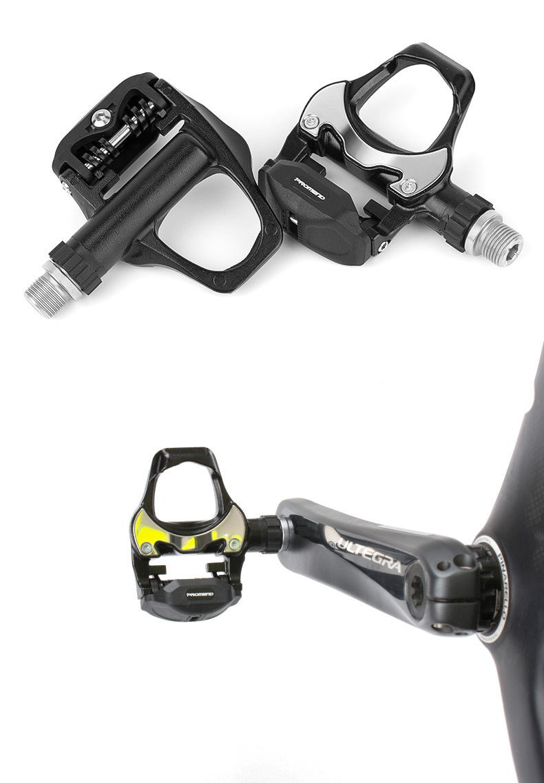 PROMEND Bike Cycling Ultralight Magnesium Pedals 3 Sealed Bearings CR-MO Axle