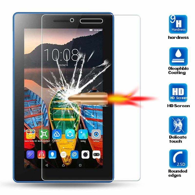 TB-7703F//X Premium Tempered Glass Screen Protector For Lenovo Tab 3 7 Plus