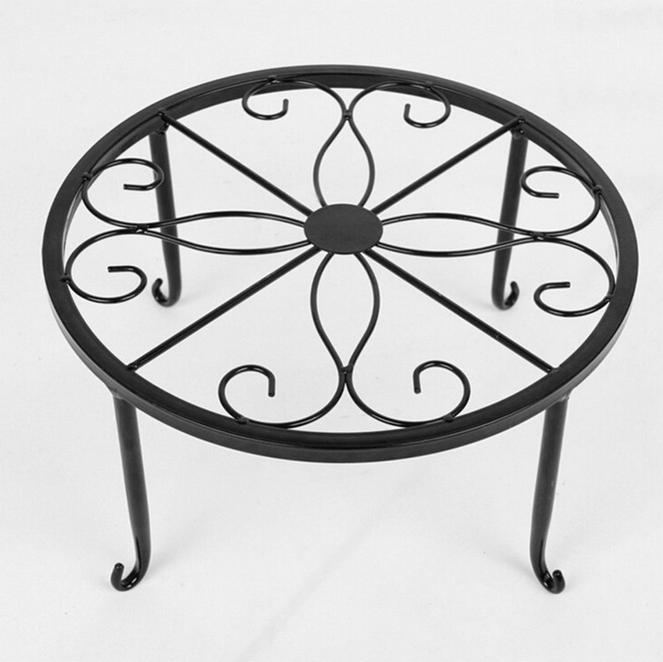 1 set blumenhocker blumenst nder blumenregal pflanzenst nder regal schwarz ebay. Black Bedroom Furniture Sets. Home Design Ideas