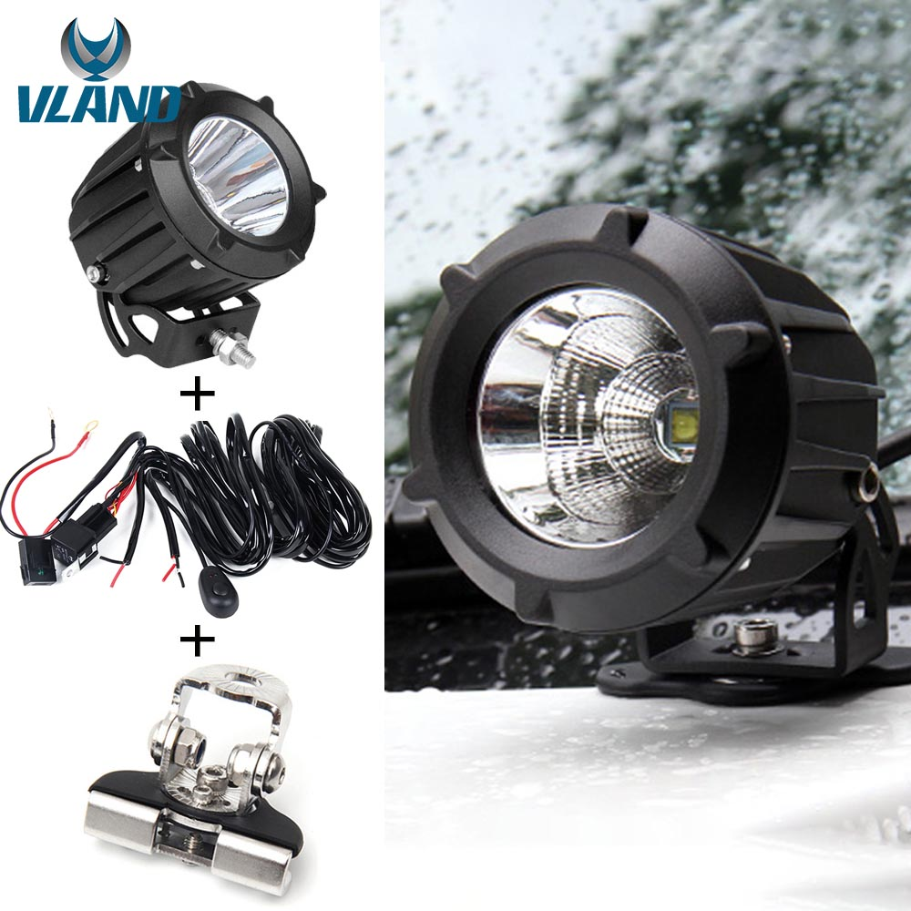 25w Led Car Driving Spotlights Work Lights Fog Spot Lamps Lins