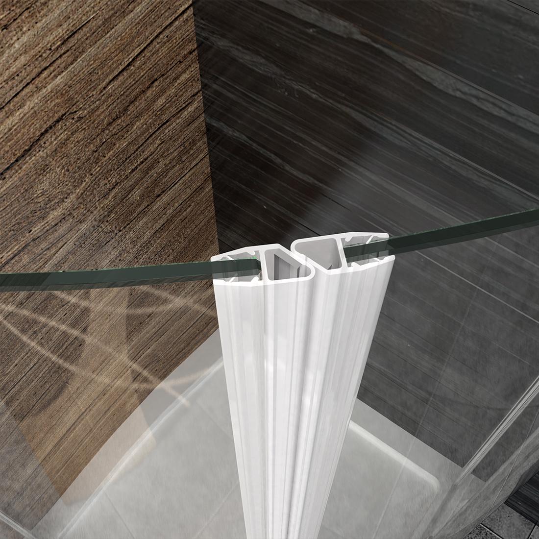 duschkabine runddusche eckeinstieg duschabtrennung esg glas viertelkreis dusche ebay. Black Bedroom Furniture Sets. Home Design Ideas