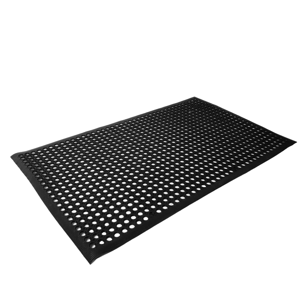 Anti Fatigue Rubber Bar Safety Floor Mat Heavy Duty Workshop No Slip
