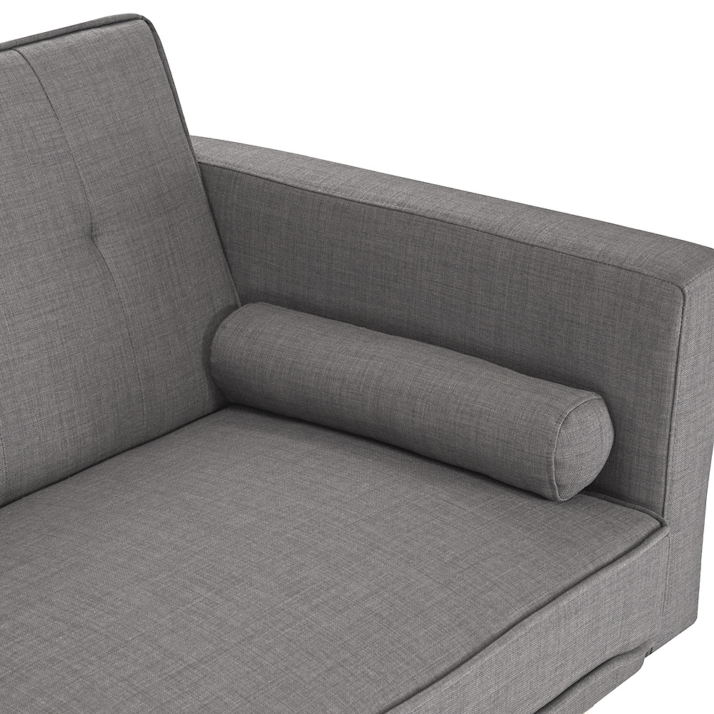 Exceptional Sofa Beds Linen Fabric Multifunctional Lazy Sofa 3  Design Inspirations