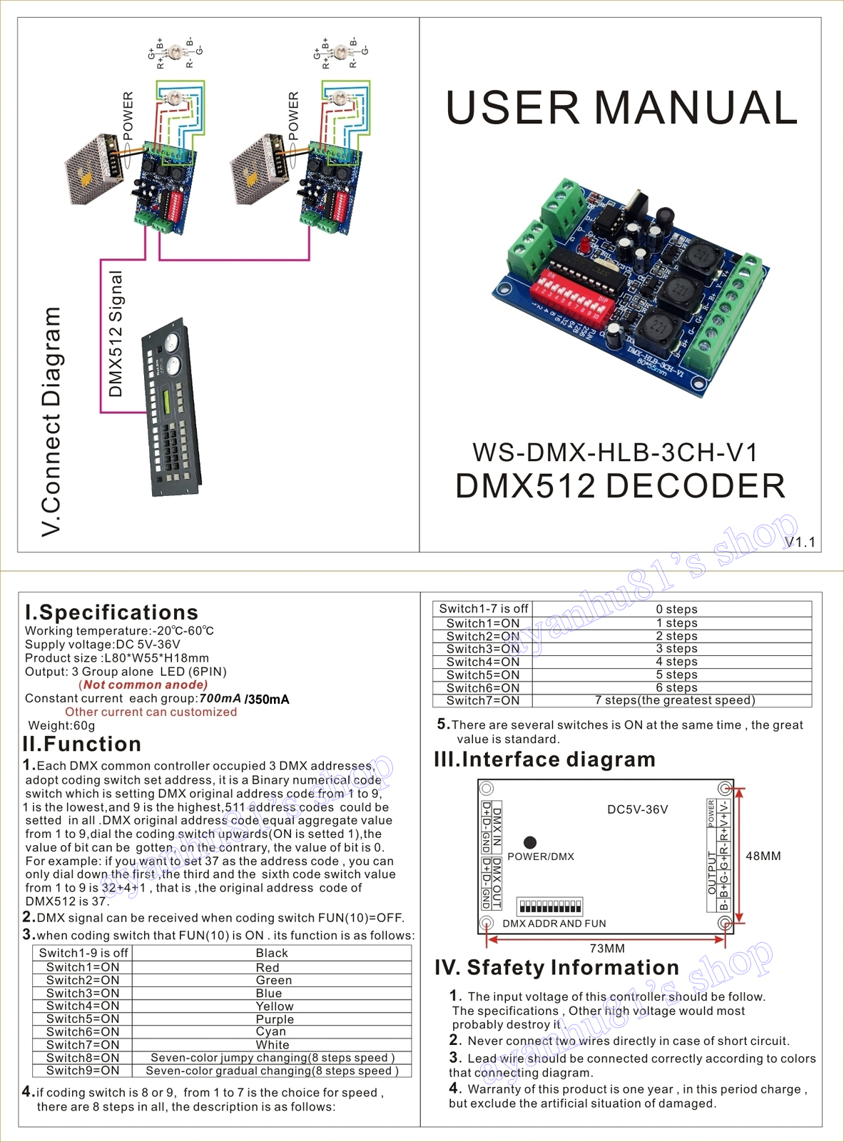 3 Channel Dmx Diagram Electrical Wiring Diagrams Xlr Dc 5 36v Constant Current 350 700ma Controller 512 Rgb Pin