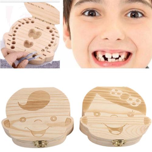Baby/'s 1st Tooth Box Girl F Keepsake