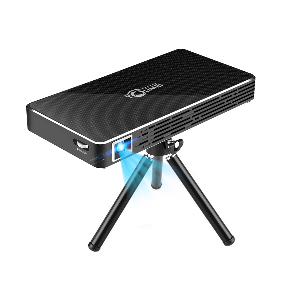 Mini android home projector dlp 4 core 2 wifi hdmi 1080p for Bluetooth hdmi projector