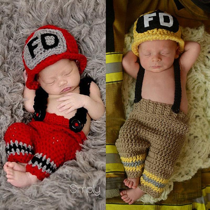 Lovely Newborn Baby Boys Girls Hats Chicken Style Crochet Knit Photography Prop