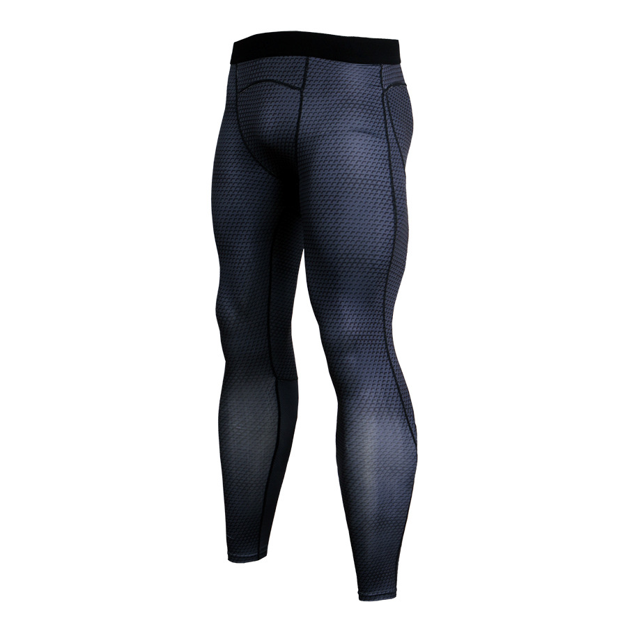 Men-Apparel-Compression-Tight-Base-Layer-Pants-Long-Leggings-Gym-Sports-Trousers thumbnail 9
