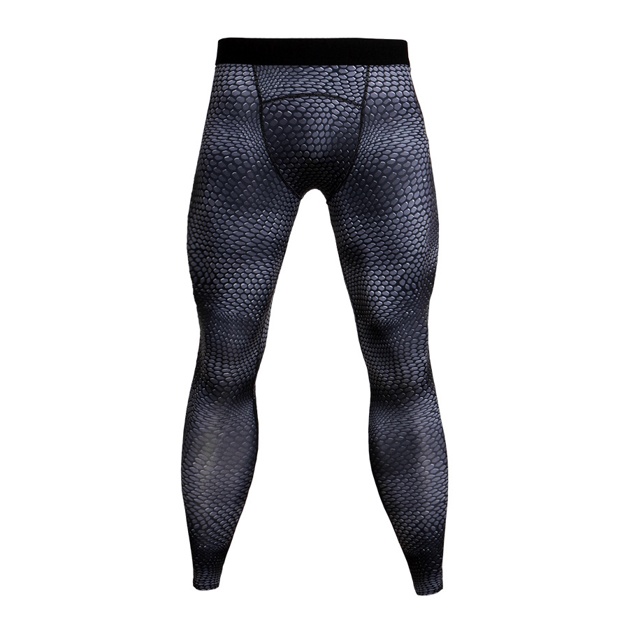 Men-Apparel-Compression-Tight-Base-Layer-Pants-Long-Leggings-Gym-Sports-Trousers thumbnail 26