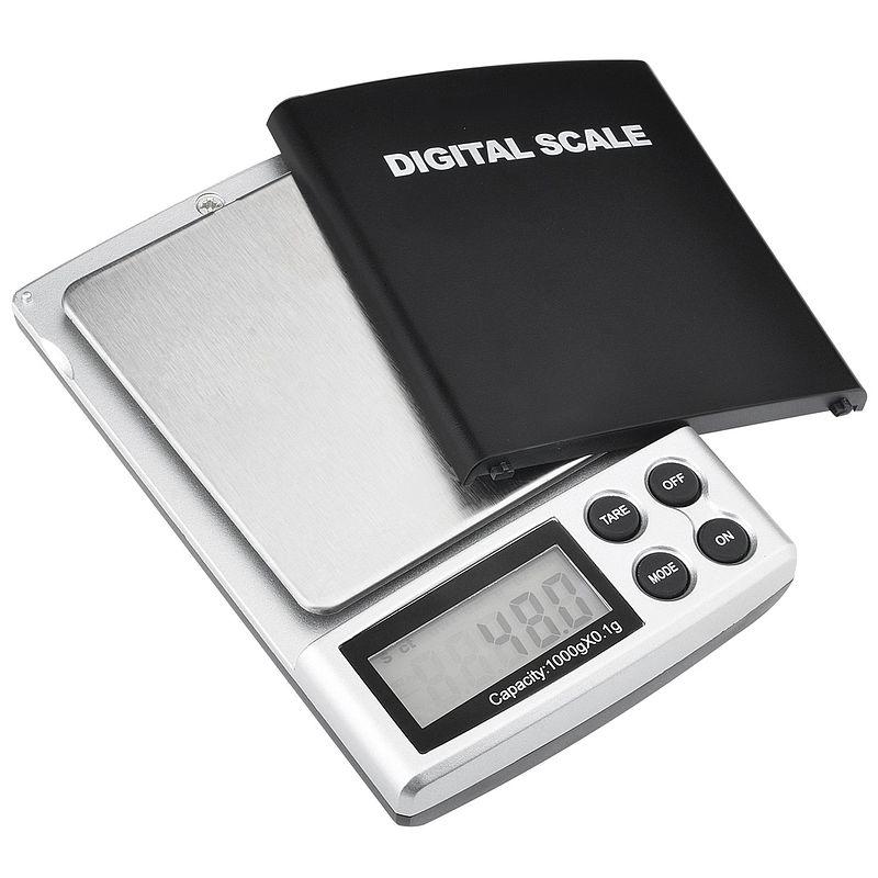 Truweigh Digital Scale CL-1000g x 0.1g Jewelry Herb Silver ...