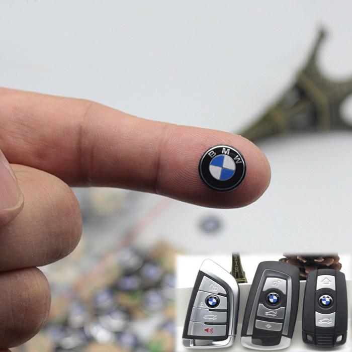 New 2X  KEY FOB LOGO  Badge Sticker Emblem 14mm Toyota USA FREE SHIPPING