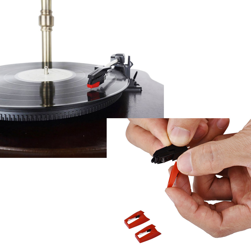 3 universal replacement turntable record player needles photogragh stylus pin us ebay. Black Bedroom Furniture Sets. Home Design Ideas