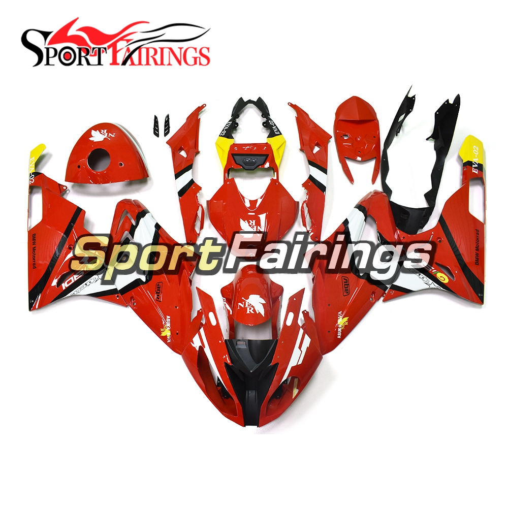 For Bmw S1000rr 2015 2016 Abs Injection Plastic Red White Yellow