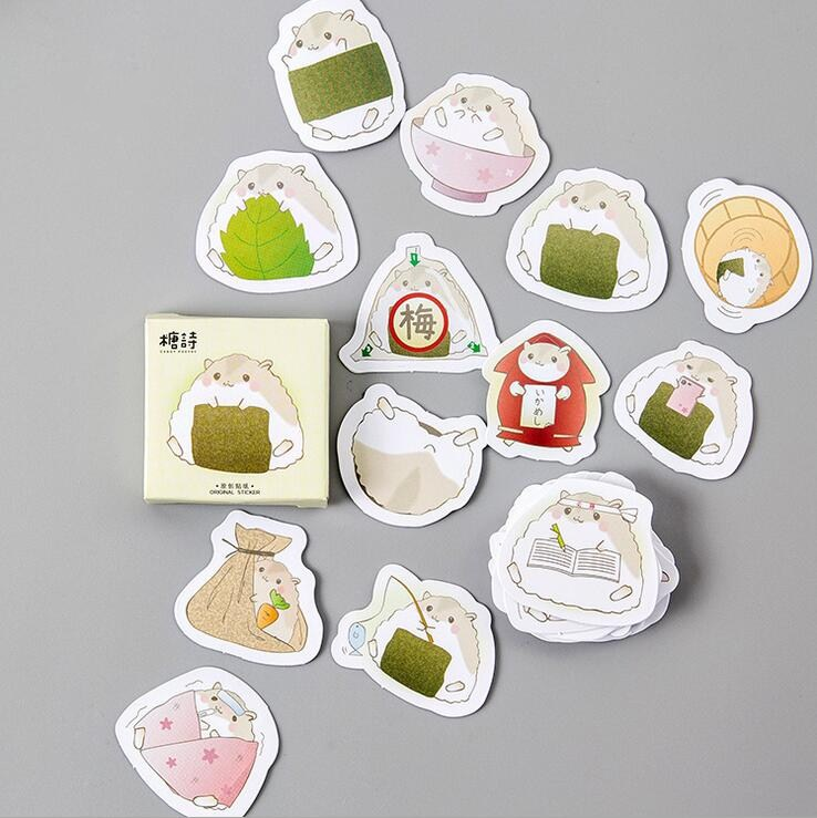 45pcs Colored planet Stickers DIY decorative stationery Sealing stickers NEWLY