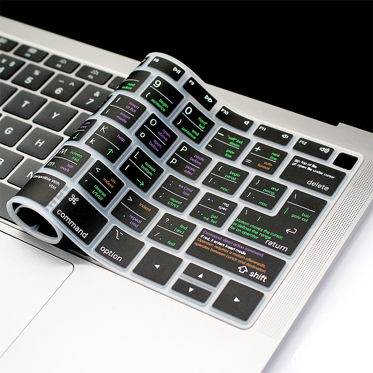 """Lightroom Hotkey Silicone Keyboard Cover Skin For Macbook 2018 New Air 13/""""A1932"""
