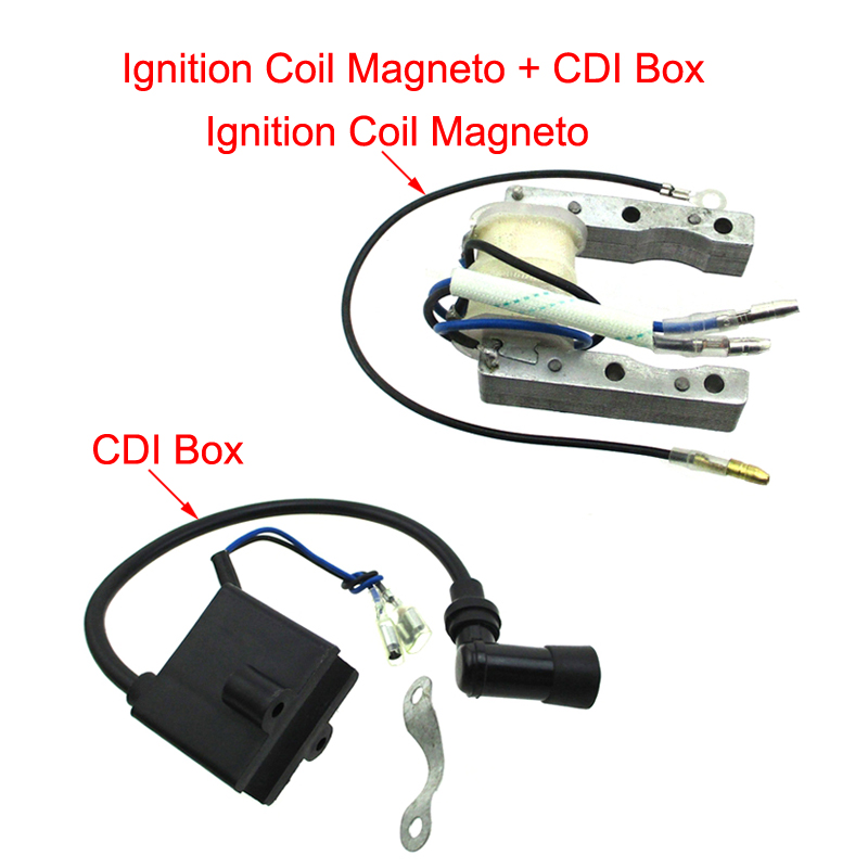Ignition Coil Set Magneto Engine Bicycle For Motorized Bike 50//60//66//80cc