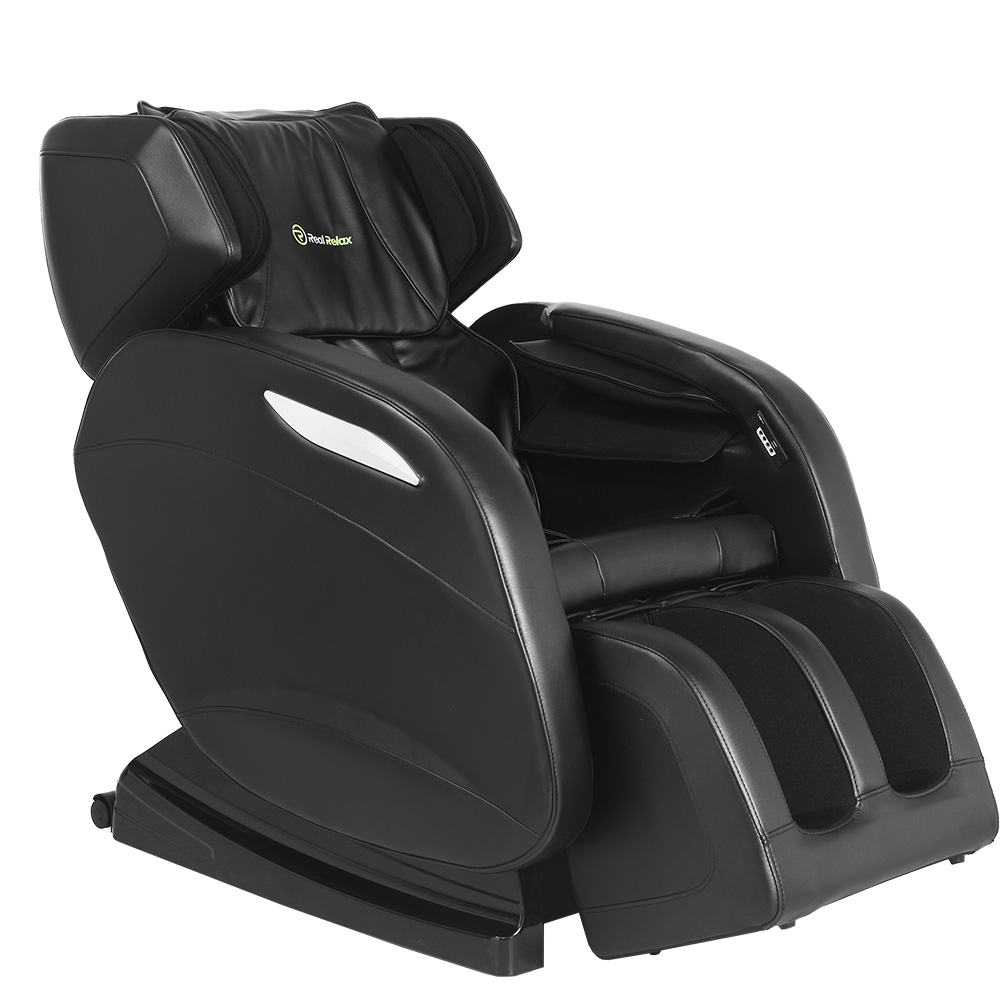 real relax full body shiatsu massage chair recliner zero