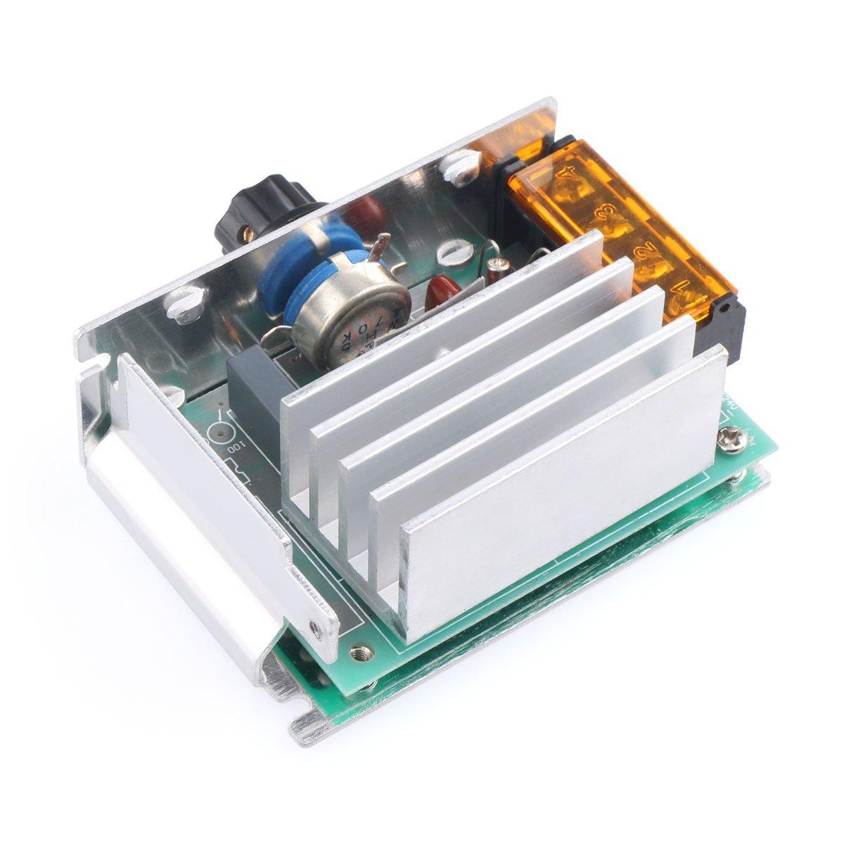 4000w 220v Ac Scr Voltage Regulator Dimmer Electric Motor