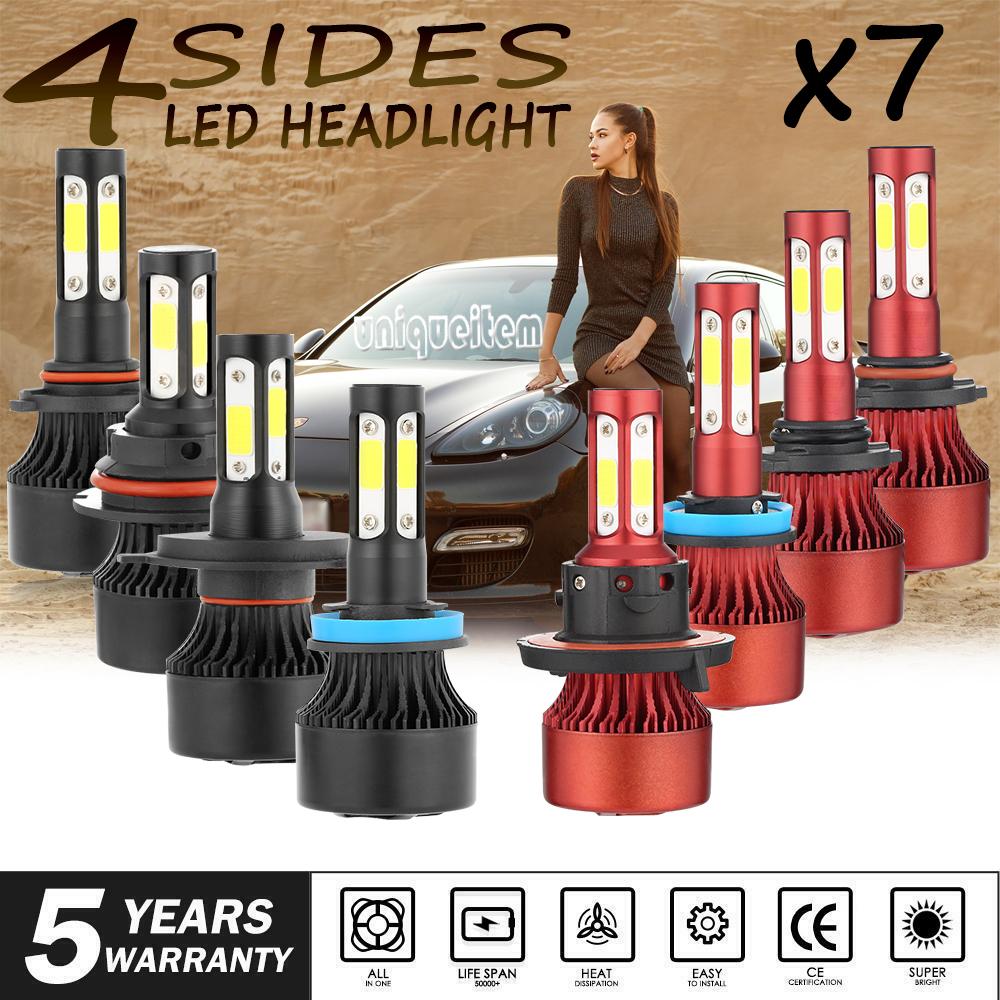 New 9006 1500W 225000LM LED Headlight Kit Low Beam Bulbs 6000K High Power Bright