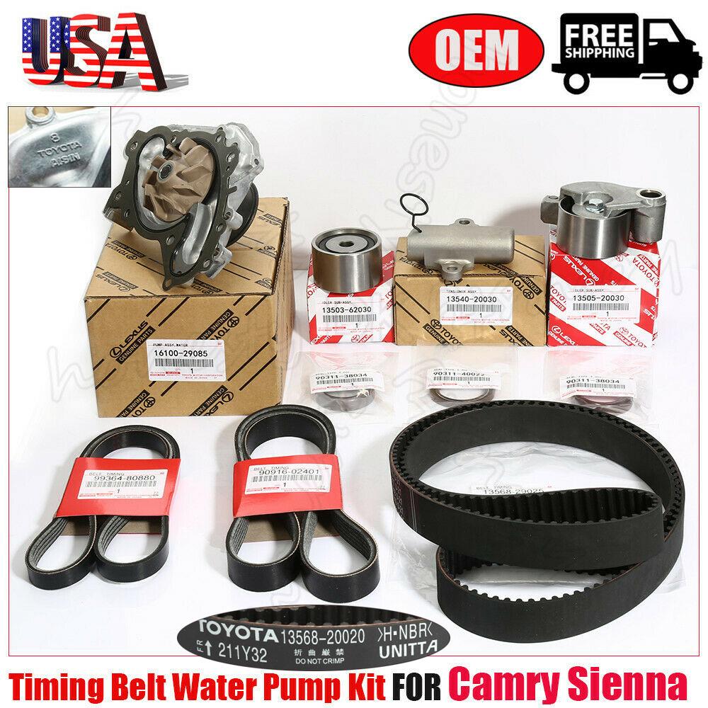 TIMING BELT KIT GENUINE // OEM Fits select Honda Acura vehicles. As in photo