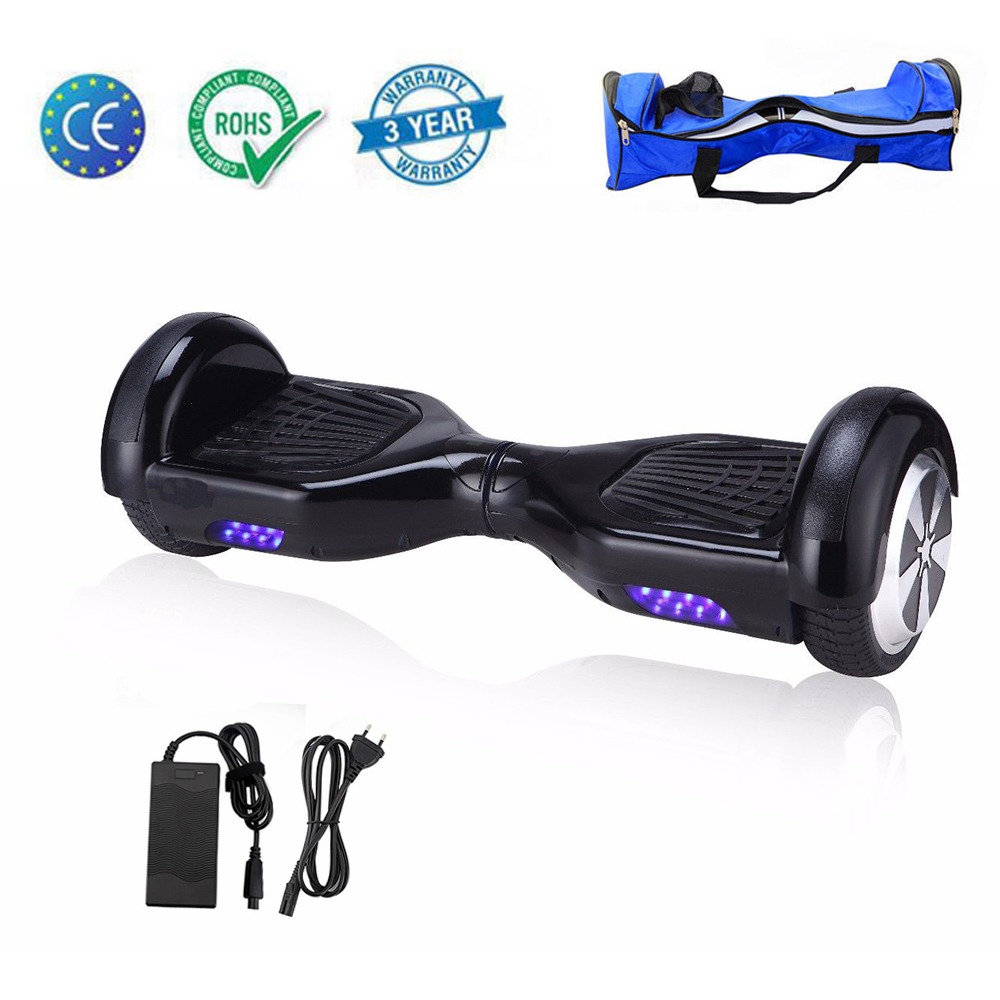 hoverboard luci led scooter overboard self balancing. Black Bedroom Furniture Sets. Home Design Ideas